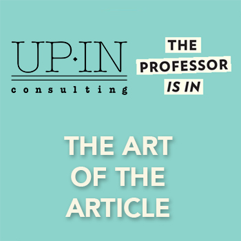 The Art of the Academic Article